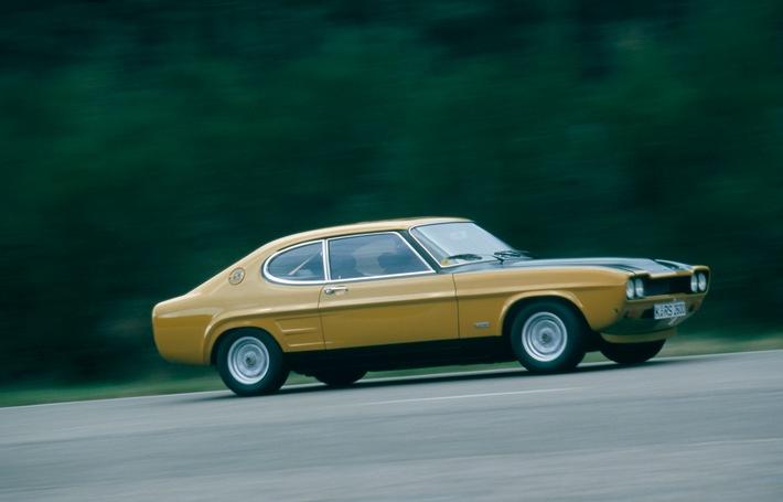 Ford Capri: 50. Geburtstag eines echten Ford-Klassikers