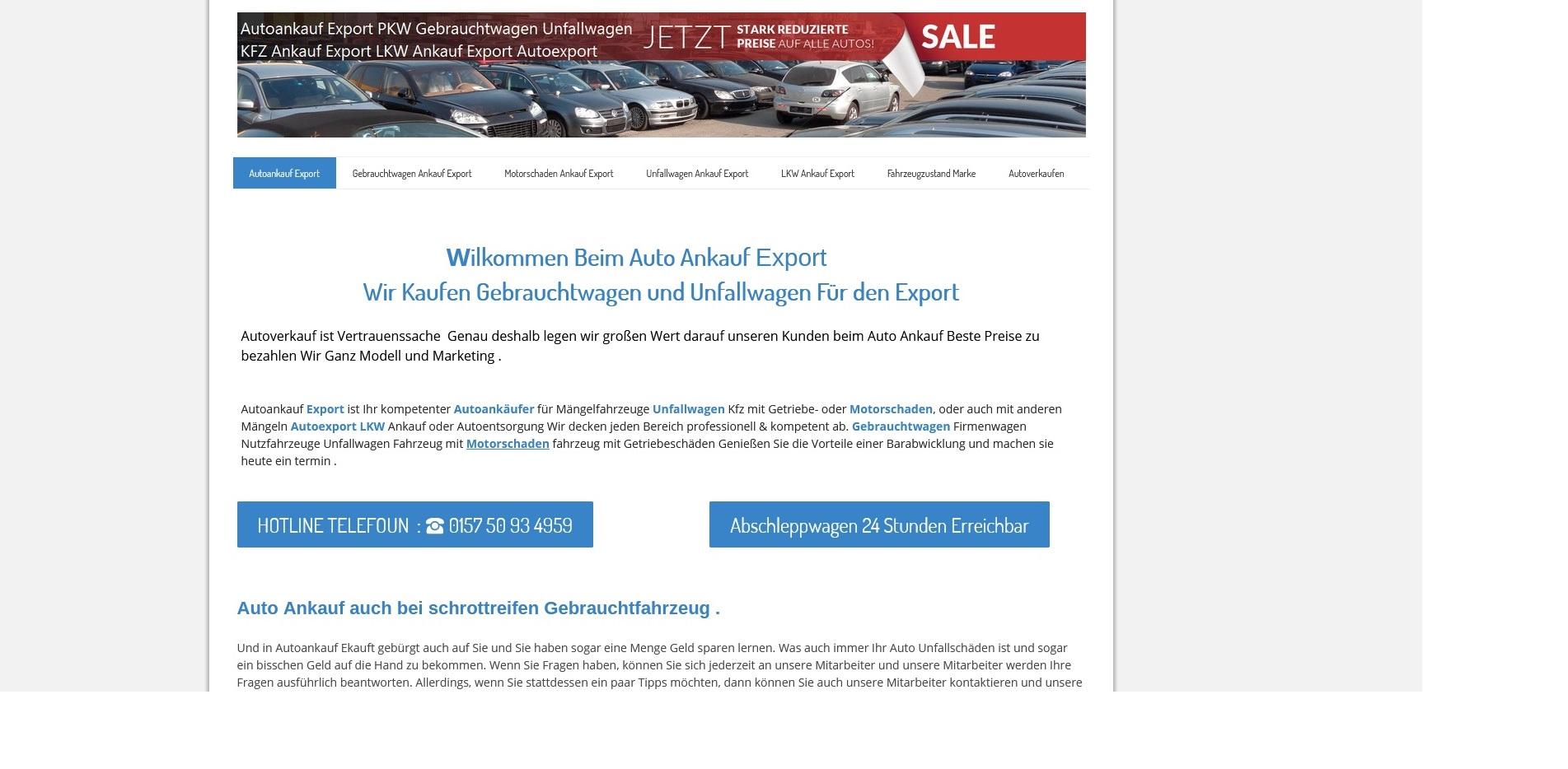 Kfz-Ankauf-export.de | Autoankauf Bremerhaven | Autoankauf Export Bremerhaven